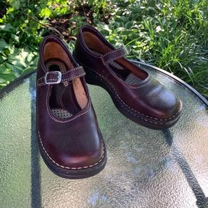 Born Chocolate Brown Leather Mary Janes 7